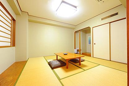 和室 (8畳or6畳+リビング) (喫煙)