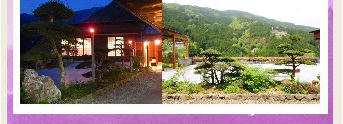 秘境・祖谷を一望する渓流の館